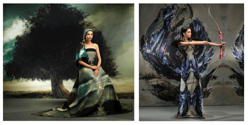 Imágenes Calendario y Fashion Film Lafayette - oleo